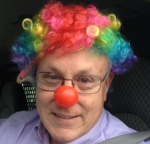 John in Clown Wig